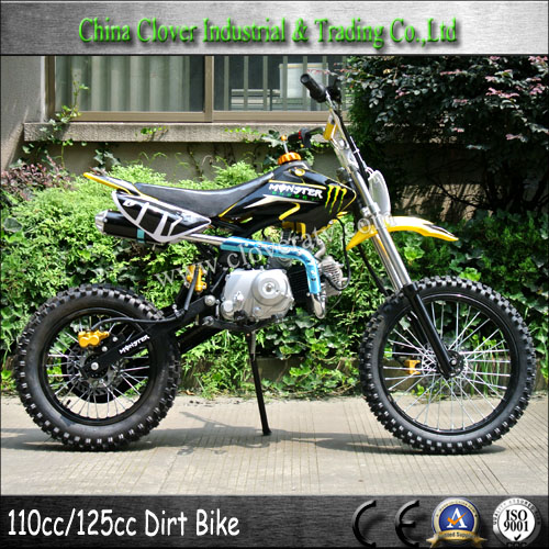 yellow cheap two wheel motorbike 125cc pit bike dirt bike. Black Bedroom Furniture Sets. Home Design Ideas