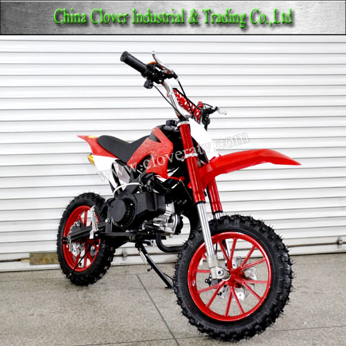 2 Stroke Air Cooled 49CC Motorcycle Dirt Bike with Emergency Stop
