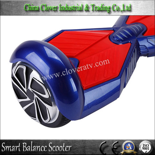 Smart self balancing electric scoorer with bluetooth magic lamp and music
