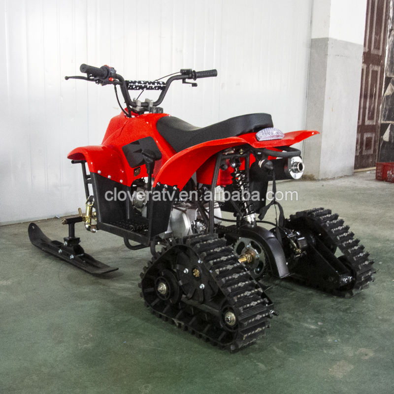 2019 New Design Electric Start 125CC Snowmobiles with Track