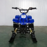 Chinese Cheap Price Petrol 4 Stroke 125CC Snowmobiles with Track