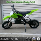 10 inch Big Wheel Electric Dirt Bike 250W 24V Mini Pit Bike for Children