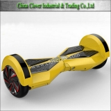 "8"" Remote Bluetooth Speaker LED lights wheels electric balance scooter"